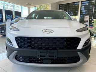 2020 Hyundai Kona Os.v4 MY21 2WD Atlas White 8 Speed Constant Variable Wagon.