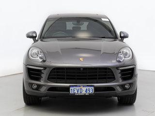 2015 Porsche Macan MY16 S Diesel Grey 7 Speed Auto Dual Clutch Wagon.