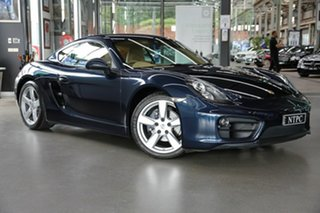 2015 Porsche Cayman 981 MY15 PDK Blue 7 Speed Sports Automatic Dual Clutch Coupe.