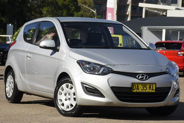 Used Hyundai i20 PB MY12.5 Active Rosebery, 2012 Hyundai i20 PB MY12.5 Active Silver 6 Speed Manual Hatchback