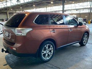 2013 Mitsubishi Outlander ZJ MY13 Aspire 4WD Bronze 6 Speed Sports Automatic Wagon