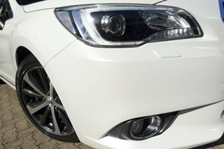 2015 Subaru Liberty MY15 3.6R White Continuous Variable Sedan.