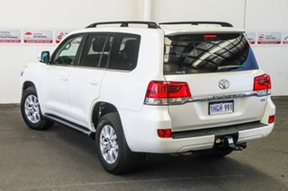 2019 Toyota Landcruiser VDJ200R VX Crystal Pearl 6 Speed Sports Automatic Wagon.