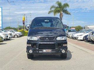 2006 Mitsubishi Delica PD6W Spacegear ActiveField Edition Black Automatic Van Wagon.