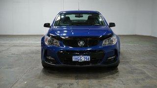 2016 Holden Commodore VF II MY16 SV6 Black Blue 6 Speed Sports Automatic Sedan