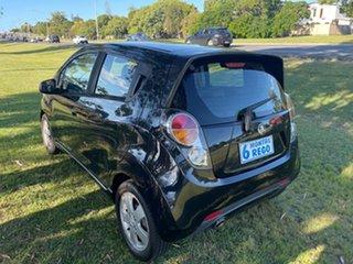 2010 Holden Barina Spark MJ MY11 CDX Black 5 Speed Manual Hatchback