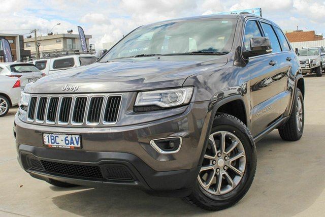 Used Jeep Grand Cherokee WK MY2014 Laredo 4x2 Coburg North, 2014 Jeep Grand Cherokee WK MY2014 Laredo 4x2 Grey 8 Speed Sports Automatic Wagon