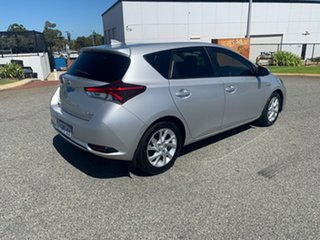 2018 Toyota Corolla ZWE211R Ascent Sport Hybrid Silver Continuous Variable Hatchback
