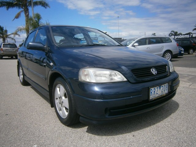 Used Holden Astra TS CD Cheltenham, 2002 Holden Astra TS CD Blue 4 Speed Automatic Hatchback