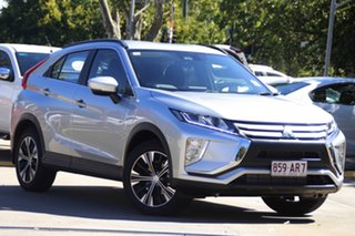 2020 Mitsubishi Eclipse Cross YA MY20 ES 2WD Sterling Silver 8 Speed Constant Variable Wagon.