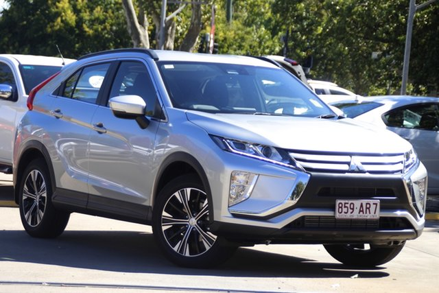 Demo Mitsubishi Eclipse Cross YA MY20 ES 2WD Toowoomba, 2020 Mitsubishi Eclipse Cross YA MY20 ES 2WD Sterling Silver 8 Speed Constant Variable Wagon