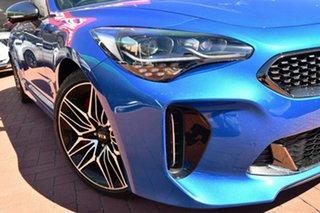 2020 Kia Stinger CK MY21 GT Fastback Micro Blue 8 Speed Sports Automatic Sedan.