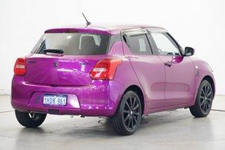 2017 Suzuki Swift AZ GL Navigator White/ Pink Wrap 1 Speed Constant Variable Hatchback