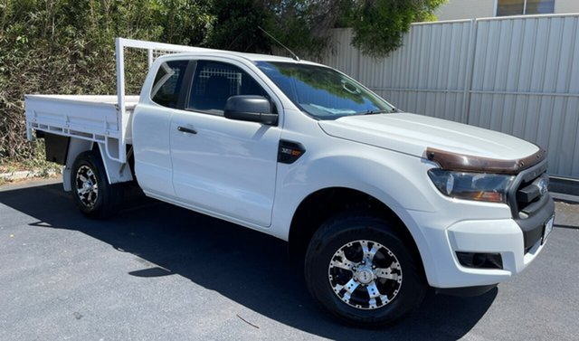 Used Ford Ranger PX MkII XL Devonport, 2017 Ford Ranger PX MkII XL White 6 Speed Manual Cab Chassis