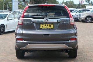 2016 Honda CR-V RM Series II MY17 VTi-L 4WD Modern Steel 5 Speed Sports Automatic SUV
