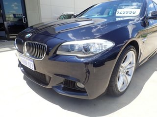2011 BMW 5 Series F10 MY11 528i Steptronic Black Magic 8 Speed Sports Automatic Sedan.