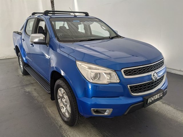 Used Holden Colorado RG MY15 LTZ Crew Cab Maryville, 2015 Holden Colorado RG MY15 LTZ Crew Cab Blue 6 Speed Manual Utility