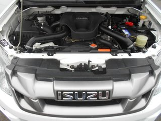 2015 Isuzu D-MAX TF MY15 SX (4x4) White 5 Speed Automatic Crew Cab Chassis