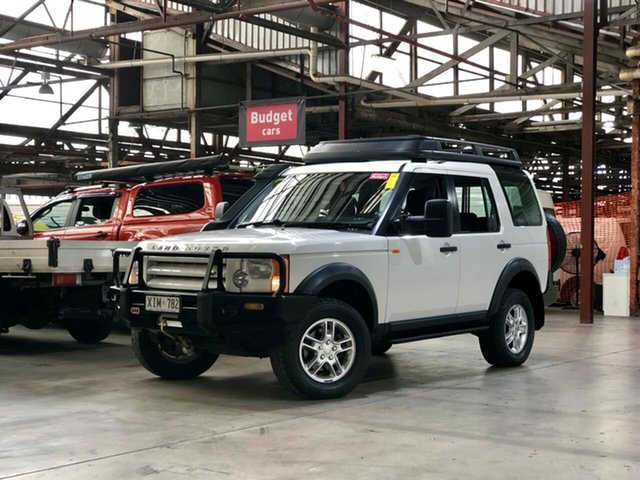 Used Land Rover Discovery 3 S Mile End South, 2005 Land Rover Discovery 3 S White 6 Speed Sports Automatic Wagon