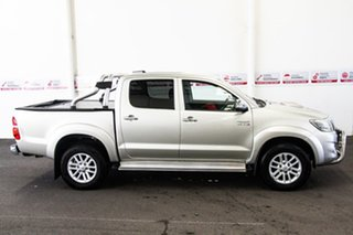 2013 Toyota Hilux KUN26R MY12 SR5 (4x4) Sterling Silver 4 Speed Automatic Dual Cab Pick-up