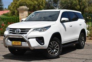 2016 Toyota Fortuner GUN156R GX White 6 Speed Automatic Wagon.