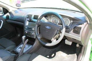 2008 Ford Falcon BF MkII XR6 Green 4 Speed Auto Seq Sportshift Utility