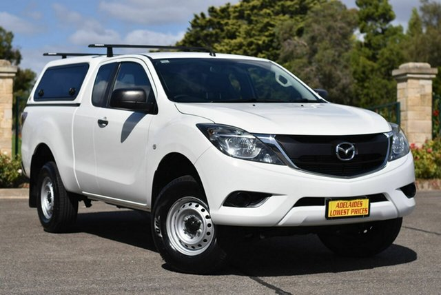 Used Mazda BT-50 UR0YG1 XT Freestyle 4x2 Hi-Rider Enfield, 2017 Mazda BT-50 UR0YG1 XT Freestyle 4x2 Hi-Rider White 6 Speed Manual Cab Chassis
