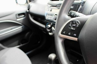 2017 Mitsubishi Mirage LA MY18 ES White 1 Speed Constant Variable Hatchback.