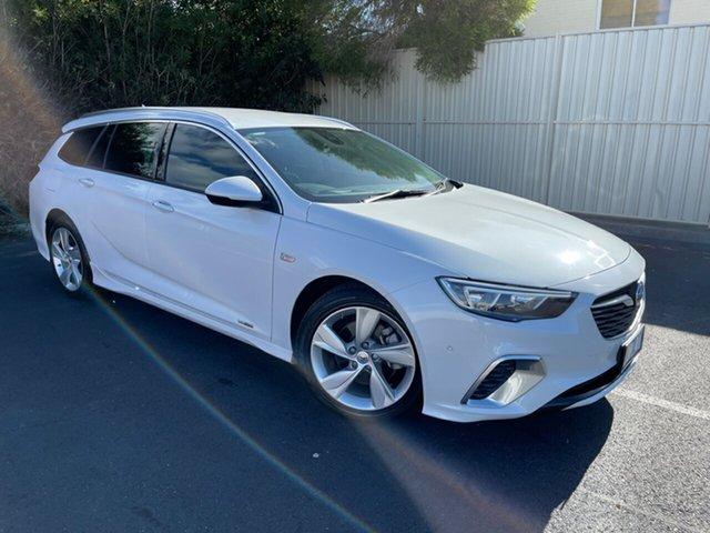 Used Holden Commodore ZB MY18 RS-V Sportwagon AWD Devonport, 2018 Holden Commodore ZB MY18 RS-V Sportwagon AWD Abalone White 9 Speed Sports Automatic Wagon