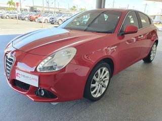 2012 Alfa Romeo Giulietta Series 0 Red 6 Speed Manual Hatchback