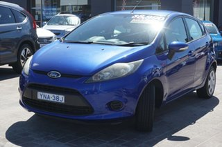 2012 Ford Fiesta WT CL Blue 5 Speed Manual Hatchback