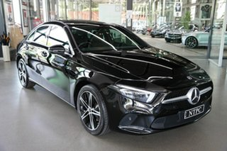2019 Mercedes-Benz A-Class V177 800MY A200 DCT Black 7 Speed Sports Automatic Dual Clutch Sedan