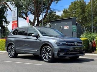 2020 Volkswagen Tiguan 5N MY20 162TSI Highline DSG 4MOTION Allspace Grey 7 Speed.