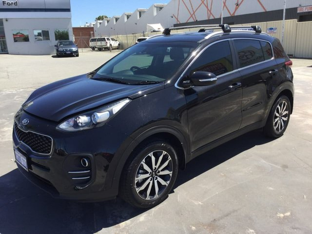Used Kia Sportage QL MY18 Si 2WD Premium Morley, 2018 Kia Sportage QL MY18 Si 2WD Premium Black 6 Speed Sports Automatic Wagon