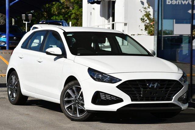 New Hyundai i30 PD.V4 MY21 Active Victoria Park, 2020 Hyundai i30 PD.V4 MY21 Active Polar White 6 Speed Automatic Hatchback