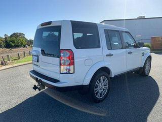 2013 Land Rover Discovery 4 MY13 3.0 TDV6 White 8 Speed Automatic Wagon
