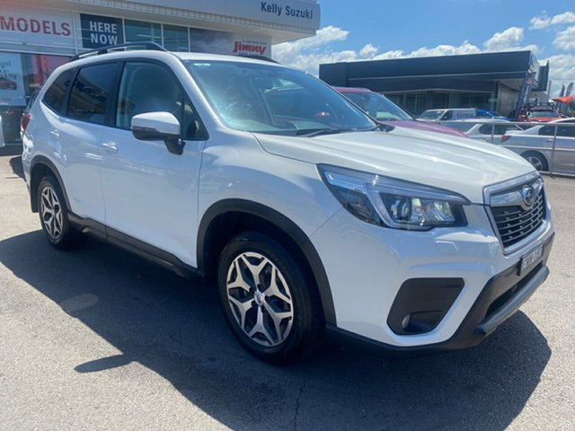 Used Subaru Forester S5 MY19 2.5i CVT AWD Cardiff, 2018 Subaru Forester S5 MY19 2.5i CVT AWD White 7 Speed Constant Variable Wagon