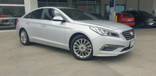 Used Hyundai Sonata LF Active Ravenhall, 2015 Hyundai Sonata LF Active Silver 6 Speed Sports Automatic Sedan