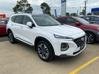 2020 Hyundai Santa Fe TM.2 MY20 Highlander White Cream 8 Speed Sports Automatic Wagon.