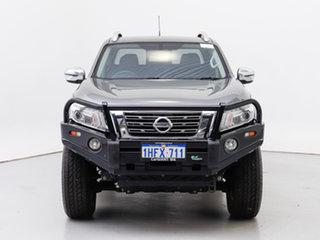 2017 Nissan Navara D23 Series II ST-X (4x4) Grey 7 Speed Automatic Dual Cab Utility.