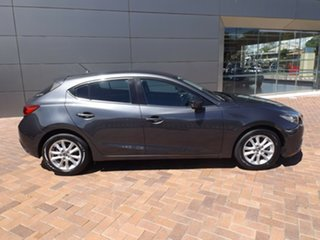 2014 Mazda 3 BM5478 Maxx SKYACTIV-Drive Meteor Grey 6 Speed Sports Automatic Hatchback.