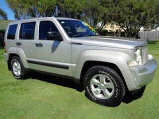 2009 Jeep Cherokee KK MY08 Sport Gold 4 Speed Automatic Wagon
