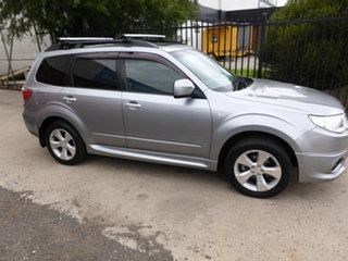 2009 Subaru Forester S3 MY10 XT AWD Premium Silver 4 Speed Sports Automatic Wagon.