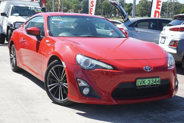 Used Toyota 86 ZN6 GTS Phillip, 2014 Toyota 86 ZN6 GTS Red 6 Speed Manual Coupe