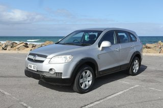 2007 Holden Captiva CG CX AWD Silver 5 Speed Sports Automatic Wagon