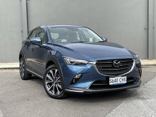 2020 Mazda CX-3 DK2W7A Akari SKYACTIV-Drive FWD Eternal Blue 6 Speed Sports Automatic Wagon.