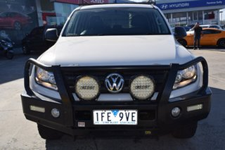 2015 Volkswagen Amarok 2H MY15 TDI420 4MOTION Perm Core White 8 Speed Automatic Utility.