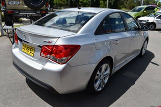 2013 Holden Cruze JH Series II MY14 SRi-V Silver 6 Speed Sports Automatic Hatchback.