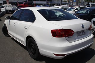 2011 Volkswagen Jetta 1KM MY10 118TSI DSG White 7 Speed Sports Automatic Dual Clutch Sedan