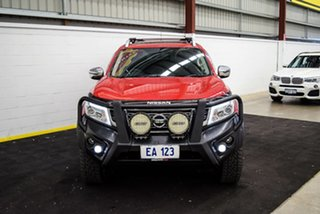 2017 Nissan Navara D23 Series II ST-X (4x4) (Sunroof) Red/Black 7 Speed Automatic Dual Cab Utility.